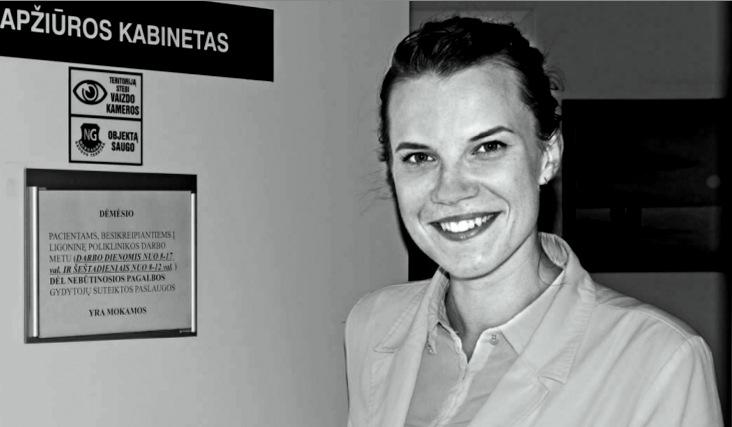 Gydytoja rezidentė Dovilė Ragažinskaitė neatmeta galimybės grįžti dirbti ir į Pasvalį.