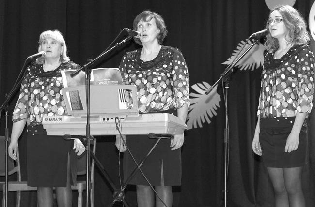 Namišių tercetas – Ina Venslovienė, Gražina Skujienė ir Roberta Skujaitė.
