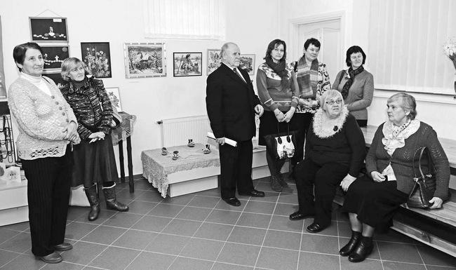 """""""Bočių"""" rankdarbių paroda pristatyta Pasvalio krašto muziejuje."""