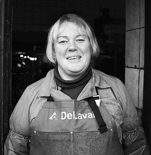 Puodžių kaime gyvenanti Rasa Gerštautaitė-Boičuk karves pradėjo melžti prieš 25 metus.