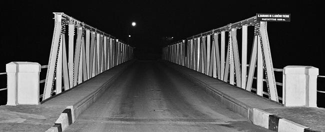 Saločių tiltas per savo amžių ištvėrė jau ne vieną remontą.