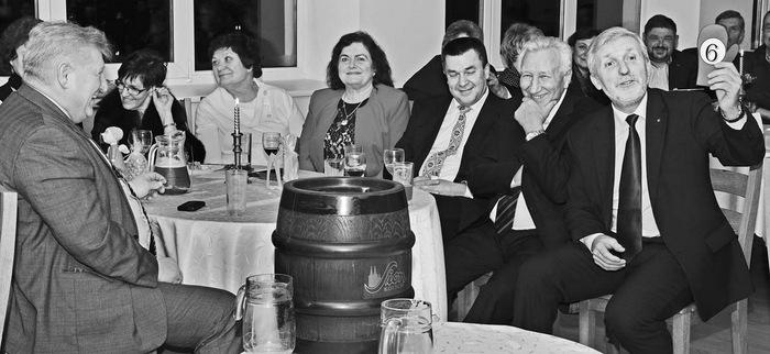 Aukcione aktyviai varžėsi ir pats labdaros vakaro iniciatorius Gintautas Gegužinskas (dešinėje).