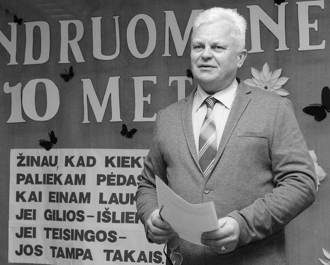 Mikoliškiečiai Pranui Liniauskui bendruomenės vairą patiki jau antrą kadenciją.