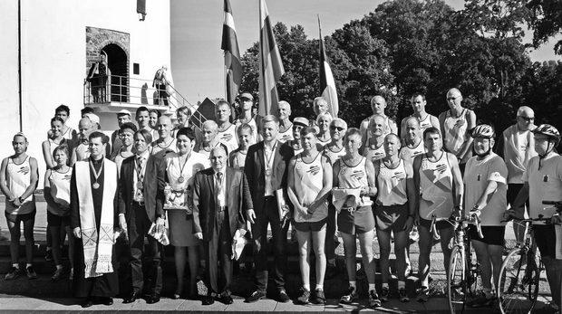 Prieš startą Vilniuje